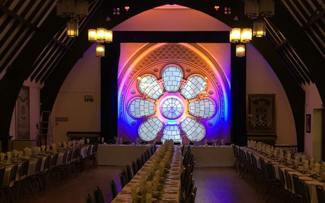 Event Production at RCA / Glaziers Hall