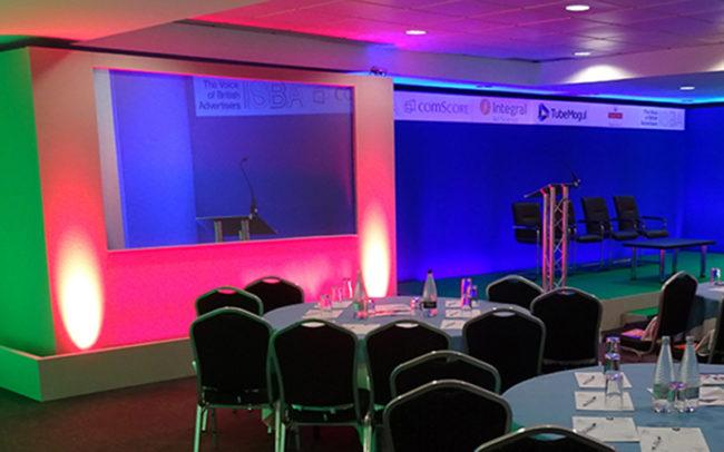 Presentation Scene Set Up