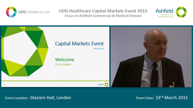 Webcast for Capital Markets Event