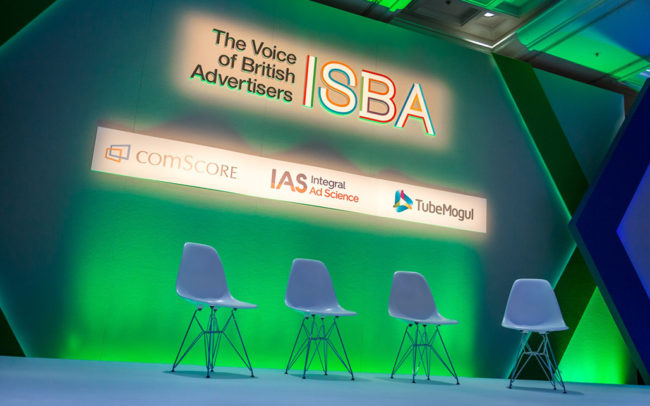 ISBA Conference Lighting
